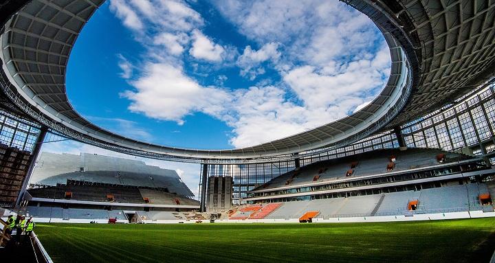 Ekaterinburg Arena, Stadion Piala Dunia 2018