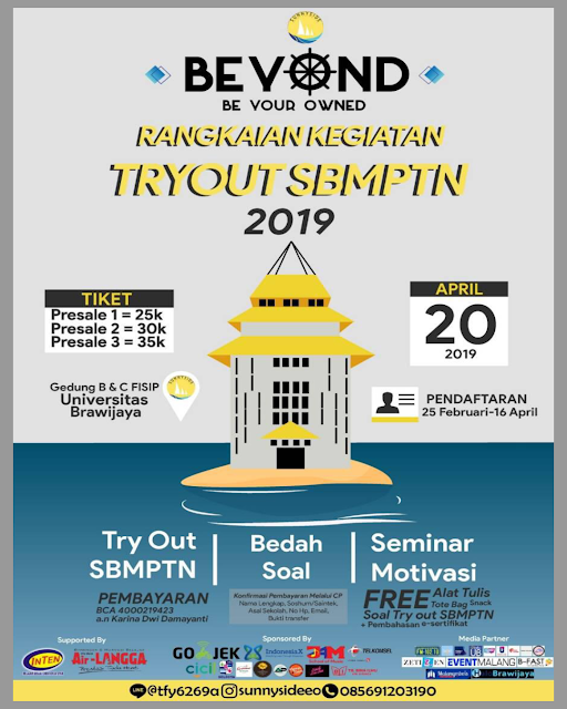 BEYOND Try Out SBMPTN 2019