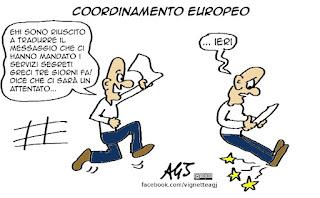 servizi segreti, europa, comunicazione, vignetta, satira