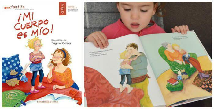 """libro infantil juvenil educación sexual niños prevención abusos """"Mi cuerpo es mío"""" Geisler"""