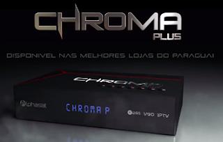 Chroma%2BPlus - Alphasat Chroma Plus Novo Lançamento confira o vídeo