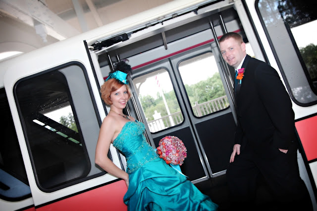 Walt Disney World Wedding - Monorail