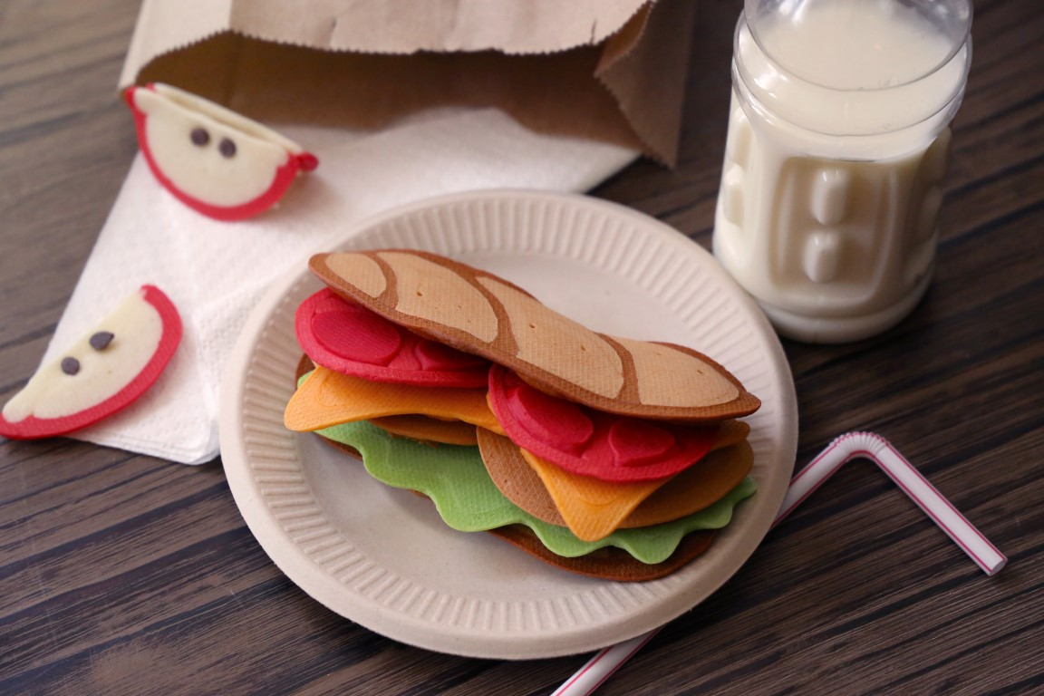 Jenni price pancake art learn how to make this pancake art school lunch sub sandwich click here to watch it ccuart Gallery