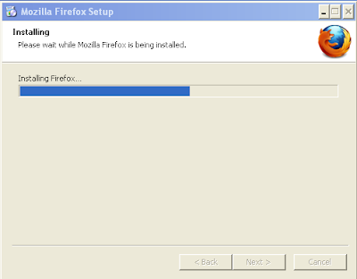 Installing Firefox...