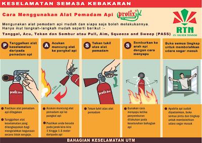 cara menggunakan alat pemadam api ringan