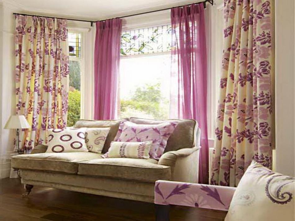 How Do You Measure Up For Curtains Put On A Bay Window Hang High Curtain Rod To Rods