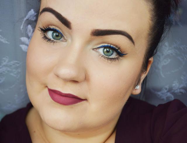 trwały makijaż drogeryjnymi kosmetykami