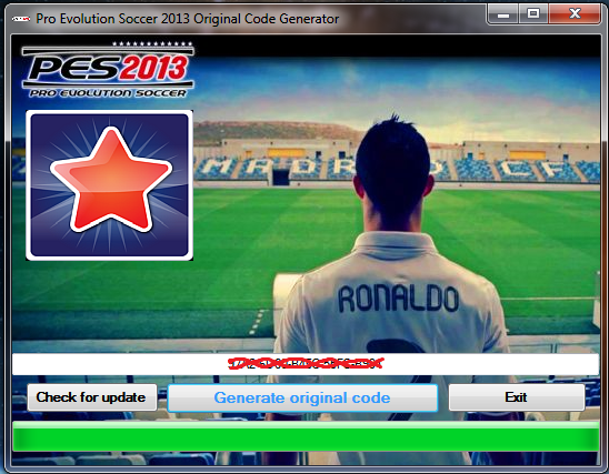 Chance to get free key for pes 2013