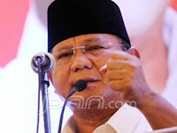 Duet Prabowo-Fahri Hamzah, Begini Respons Gerindra