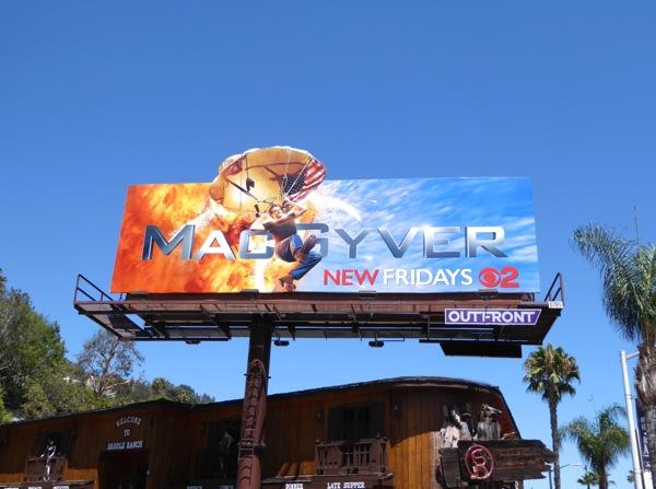 MacGyver 2016 series premiere billboard