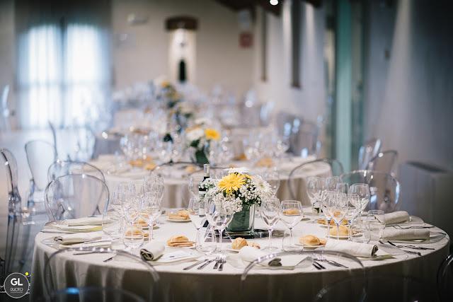 Come allestire sala da pranzo matrimonio