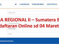 PJKA Regional II (Sumatera Barat - Padang) Close 04 Maret 2018