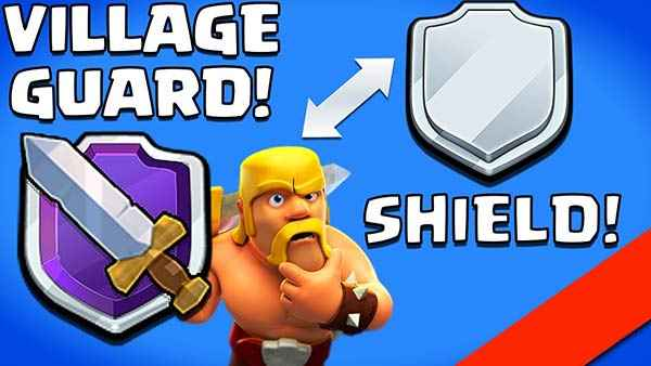 Shield dan Village Guard COC
