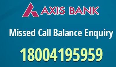 एक्सिस बैंक: अकाउंट बैलेंस चेक कैसे करे