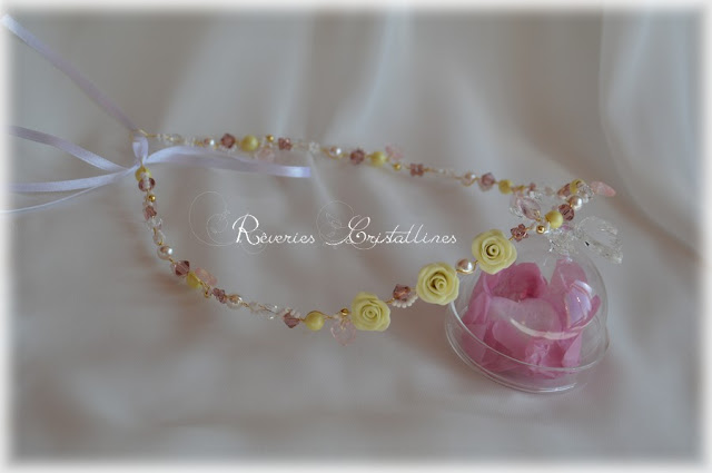 headband mariée fleurie