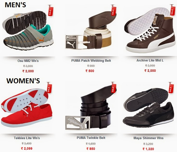 PUMA Autumn Winter End of Season Sale Men Women Apparel, Accessories, Shoes