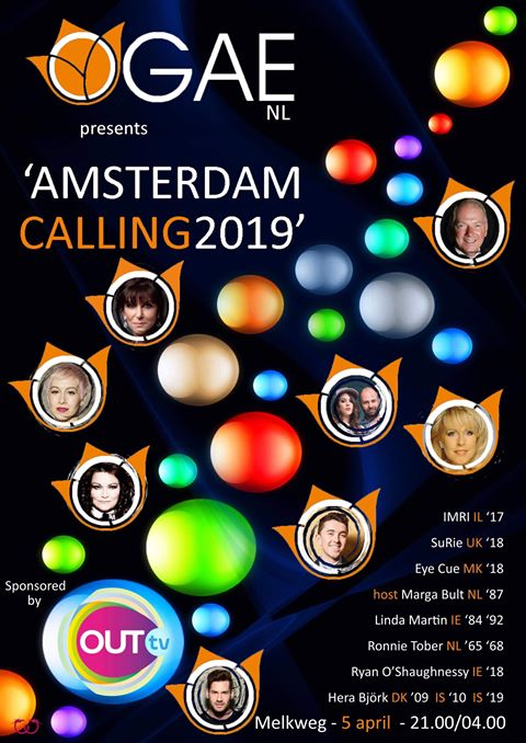 29e9cb00c If you are heading to Eurovision In Concert in Amsterdam on April 6th be  sure to make it a day, or a night earlier because on 5th there's the  pre-party in ...