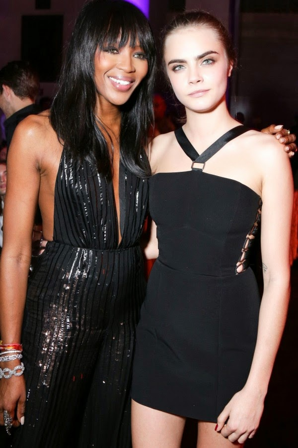 Naomi Campbell Had This To Say About Those Cara Delevingne 'Catfight' Rumours