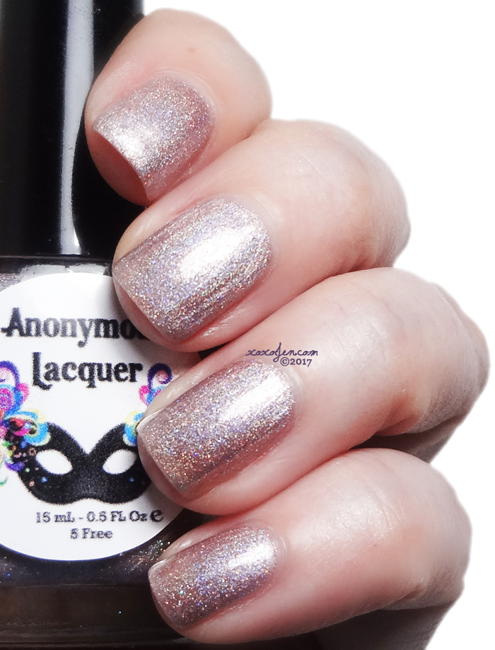 xoxoJen's swatch of Anonymous Lacquer Over The Bridge Through The Borough