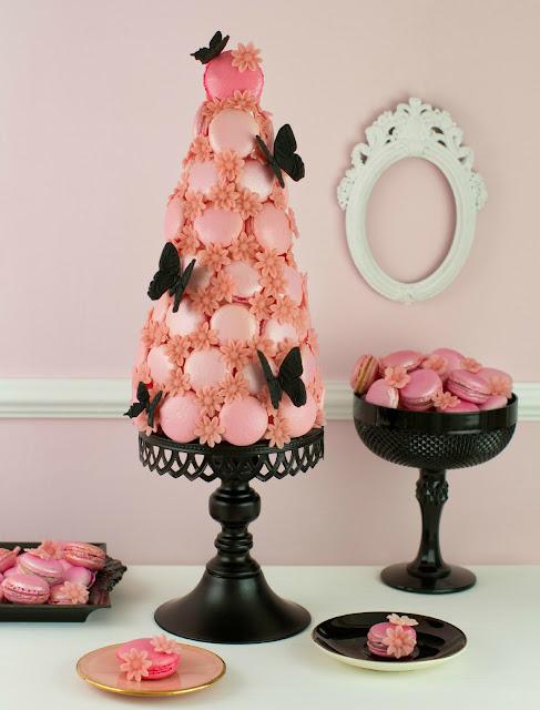 Macarons del libro Cupcakes, Cookies y Macarons de Alta Costura