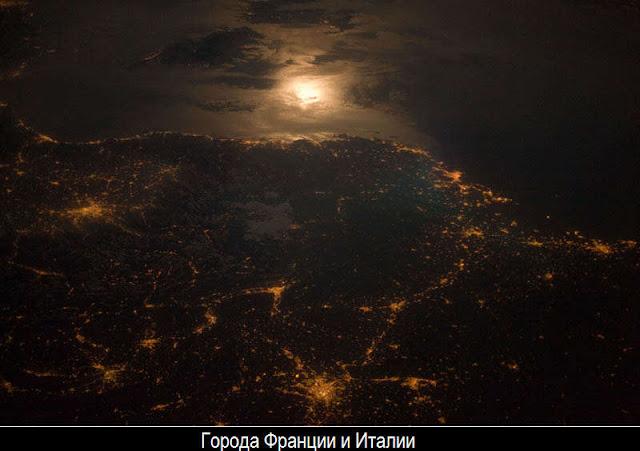 Ночная Земля из космоса 29