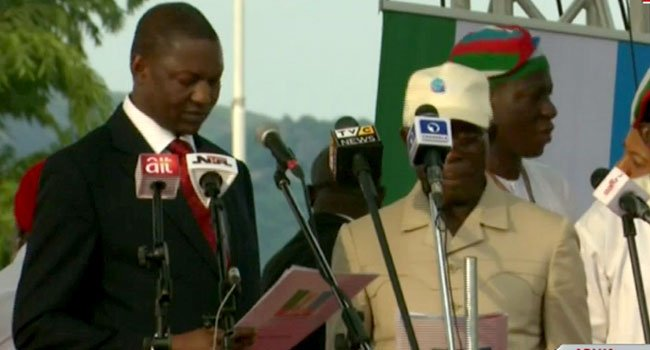 Oshiomhole Said He Is In hurry To Assume his Office