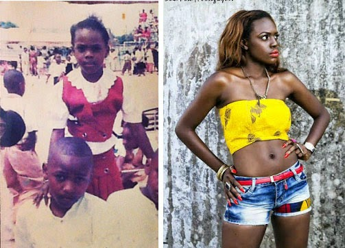 Beverly Osu of BBA the chase As Child