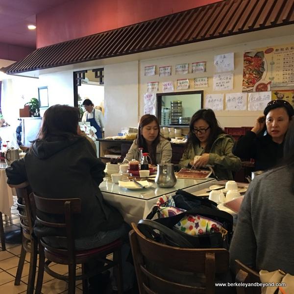 interior of Shanghai Dumpling Shop in Millbrae, California