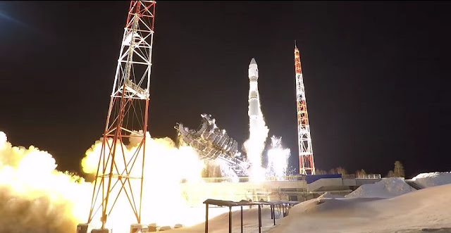 Soyuz-2-1v rocket launch on March 29. Credit: Russian Defense Ministry.