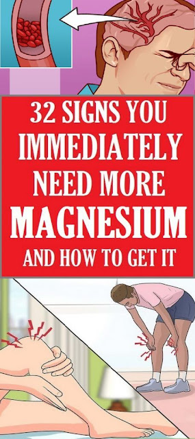 32 SIGNS YOU IMMEDIATELY NEED MORE MAGNESIUM, AND HOW TO GET IT