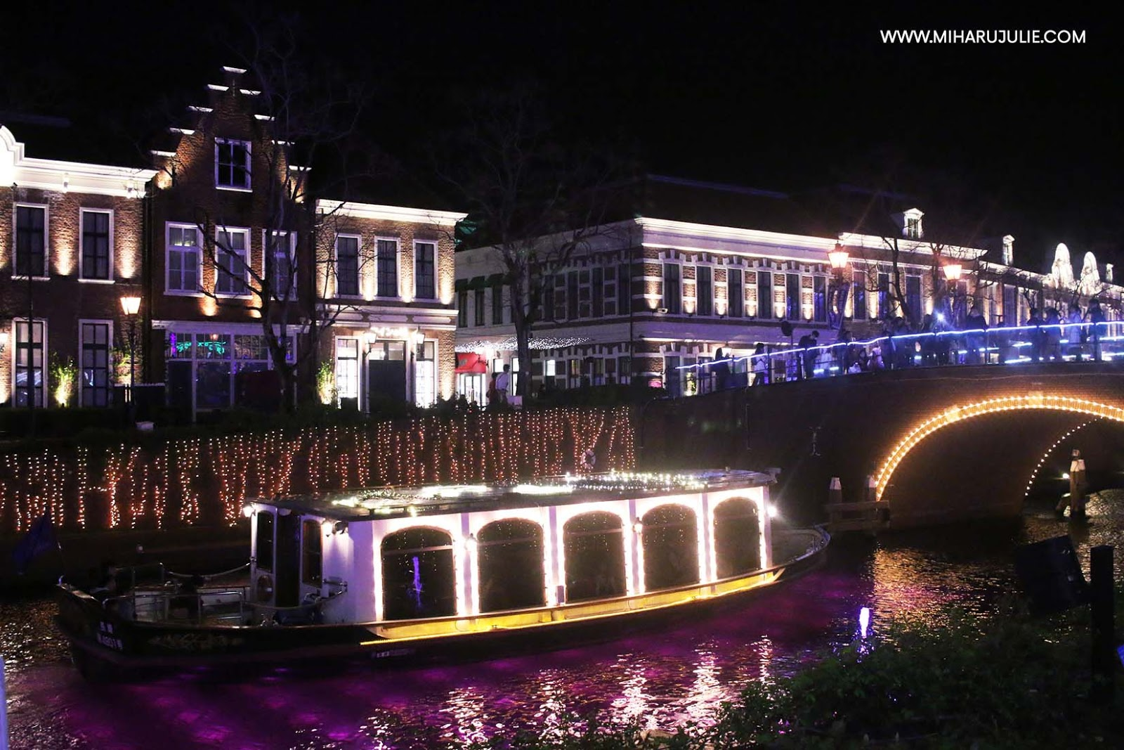 Huis ten bosch winter illumination in japan indonesia for Huis ten bosch ticket