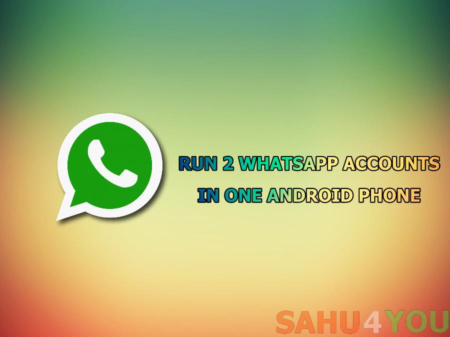 1 Mobile Me 2 WhatsApp Kaise Chalaye, Full Trick Hindi Me