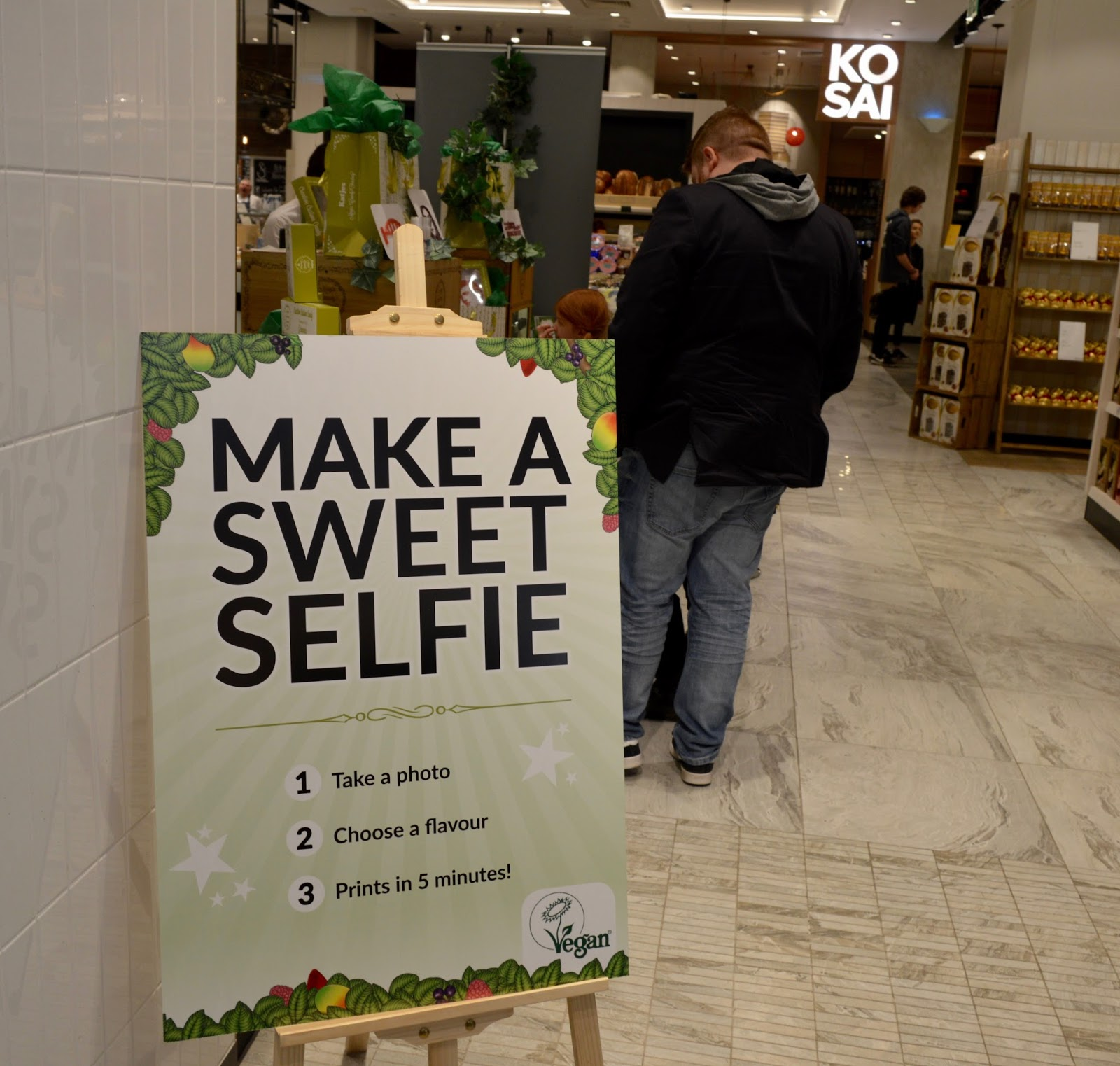 Create Magic Sweet Selfies with Katjes Magic Candy Factory at Fenwick Newcastle this Easter - location in Fenwick Food Hall