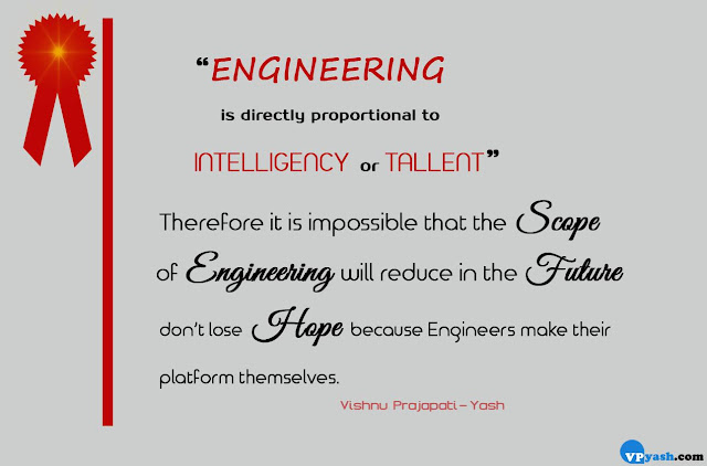 ENGINEERING is directly proportional to quote