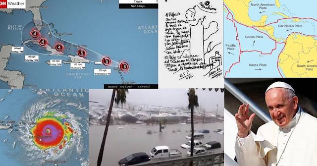 profecia setembro 2017 furacão papa parravicini