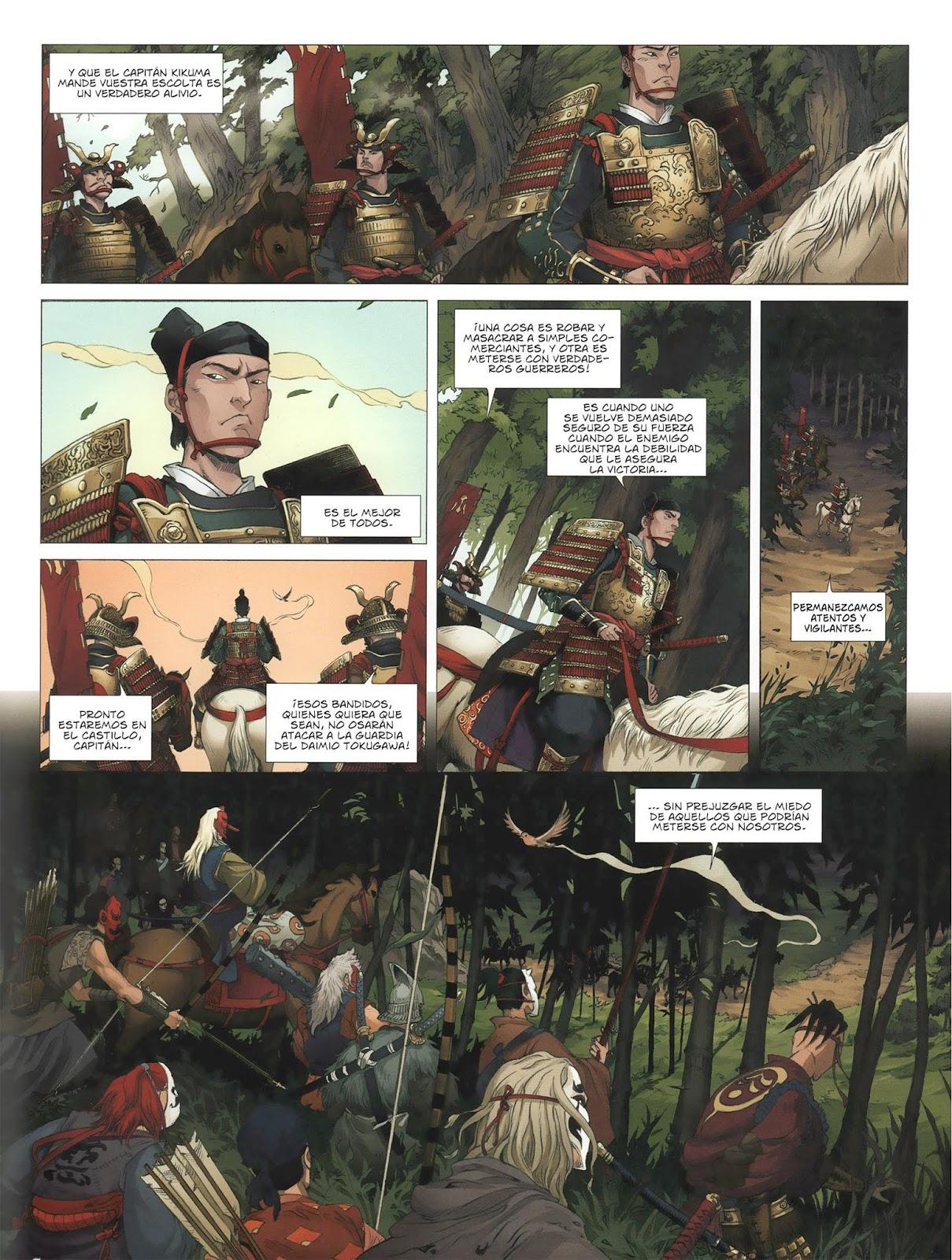 ComicAlt: La Sombra de los Shinobis