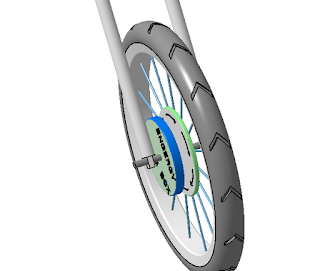 Design of Friction less  energy generation of Tyre