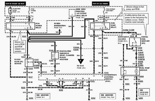 1996 ford ranger 40 wiring harness diagram