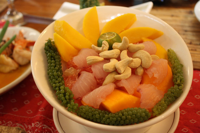 TASTE OF PALAWAN. Tubbataha Salad is one of Kalui's best sellers.