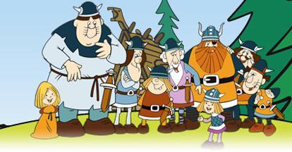 Viki a viking az osztrák tévében