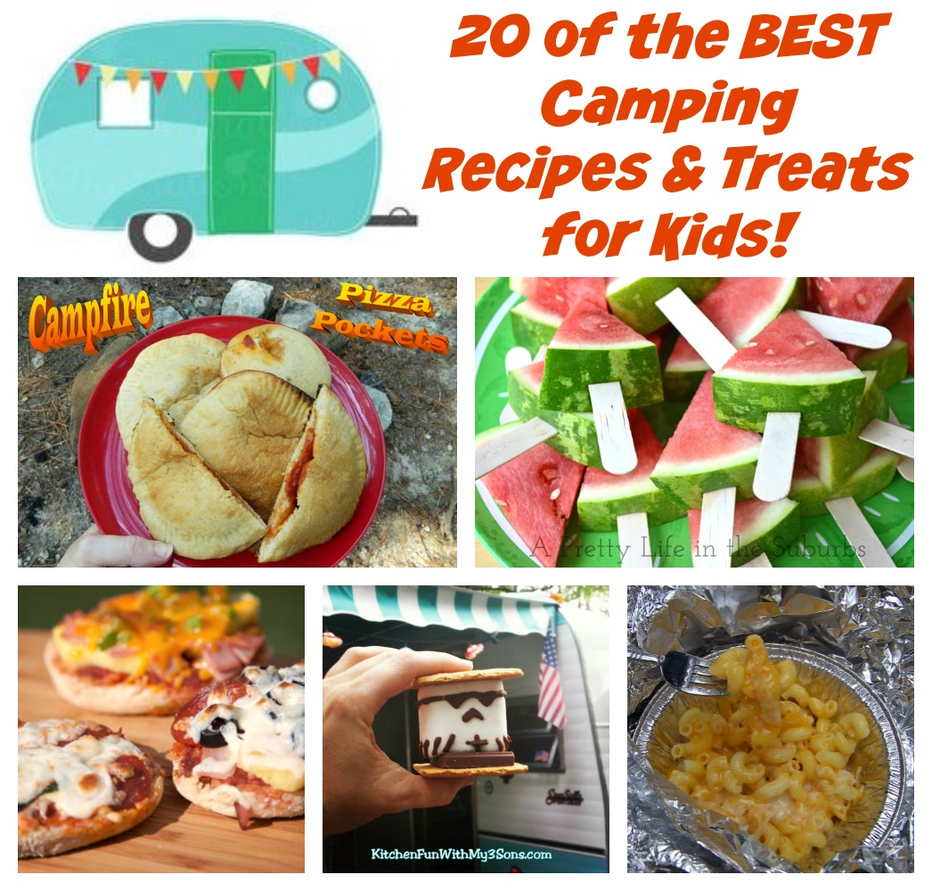 Campfire Cooking 4 Easy Camping Recipes: Kitchen Fun And Crafty Friday Link Party #167