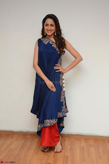 Pragya Jaiswal in beautiful Blue Gown Spicy Latest Pics February 2017 093.JPG