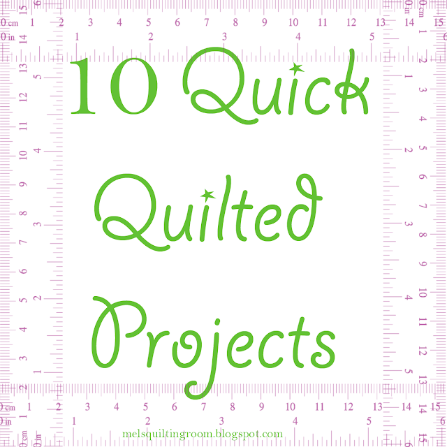 10 quick quilted projects