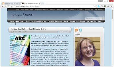 Sarah James' blog