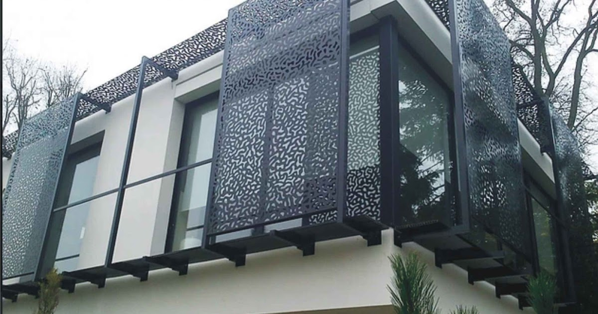 Rejas en chapa calada - Chapas metalicas decorativas ...