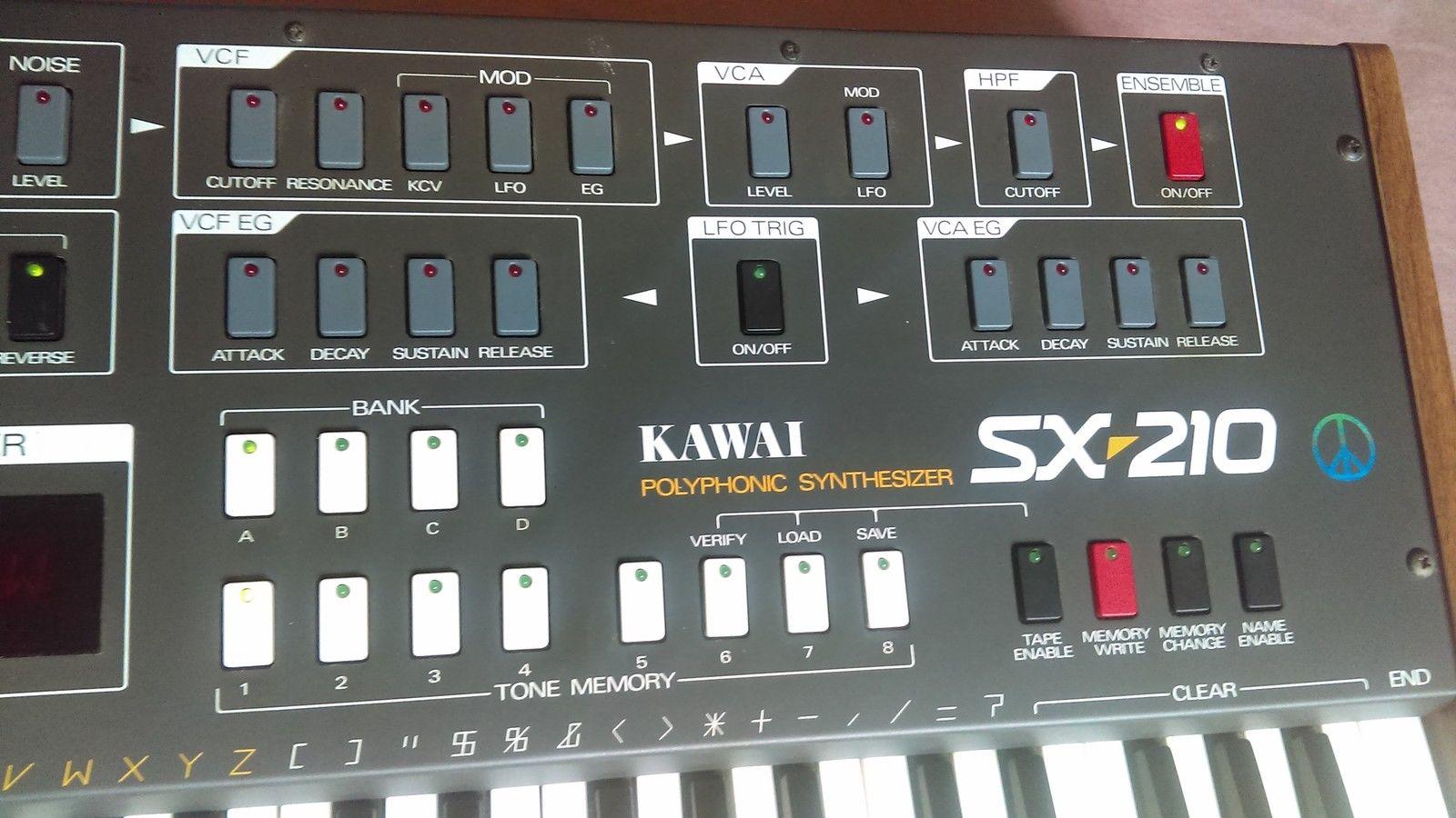 MATRIXSYNTH: Kawai SX-210 Analog Professional Polysonic Keyboard