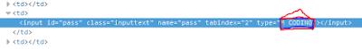 Cara Mengetahui atau Melihat Password Facebook Orang Lain dengan Mengubah Script