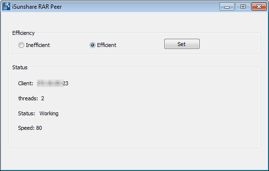 recover encrypted rar file password with client program