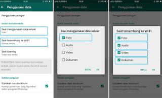Cara Agar Gambar dan Video di Whatsapp Tidak Tersimpan Otomatis di Galeri
