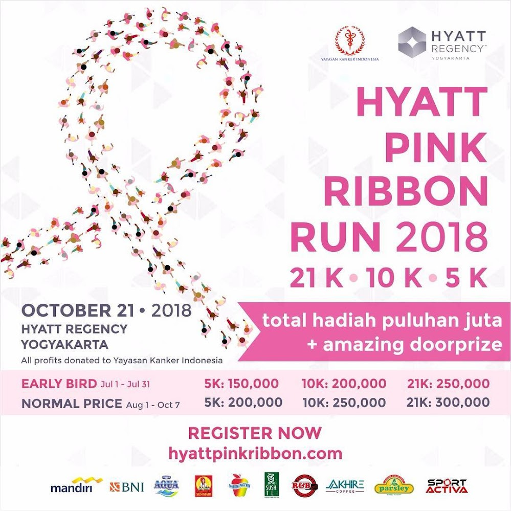 Hyatt Pink Ribbon Run • 2018